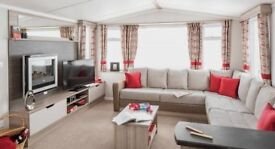 Swift Loire Holiday Home / Caravan at Hobourne Naish Cliff Top complex New Milton, Hampshire