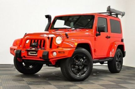 2015 Jeep Wrangler JK MY2015 Overland Red 5 Speed Automatic Hardtop