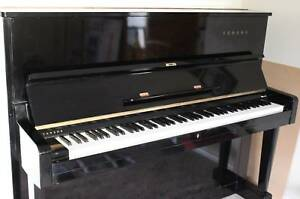 Yamaha upright Black Piano Colac Colac-Otway Area Preview