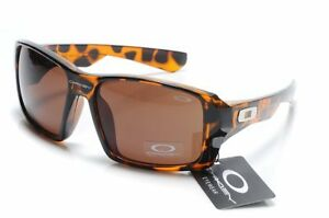 Oakley Twitch Square O Sunglasses Polished Tortoise Brown