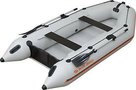 Inflatable Dinghy Boat Set With Oars and Pump Kolibri КМ-280 - 2.8m - Heavy Duty