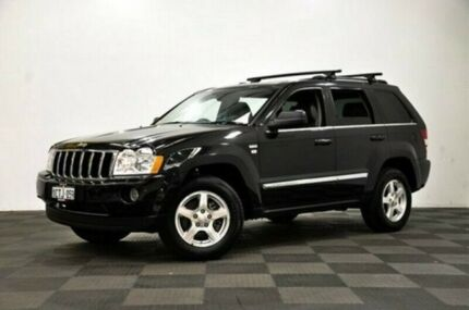 2008 Jeep Grand Cherokee WH MY2008 Limited Black 5 Speed Automatic Wagon