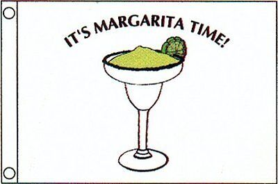 12x18 Taylor Made Margarita time boat flag Pennant NEW UNOPENED Jimmy Buffett