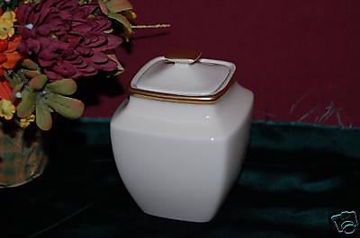 Lenox Eternal Square Sugar Bowl NEW USA ivory  Square Sugar Bowl
