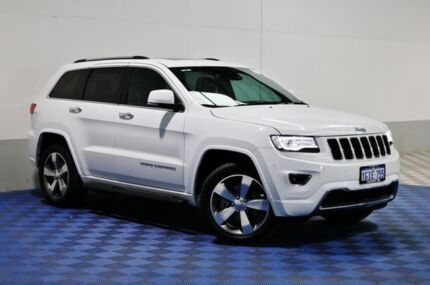 2015 Jeep Grand Cherokee WK MY15 Overland (4x4) White 8 Speed Automatic Wagon East Rockingham Rockingham Area Preview