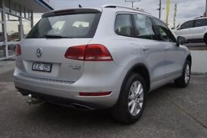 2012 Volkswagen Touareg 7P MY12.5 V6 TDI Tiptronic 4MOTION Silver 8 Speed Sports Automatic Wagon