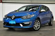 2015 Renault Megane III B95 Phase 2 GT-Line EDC Blue 6 Speed Sports Automatic Dual Clutch Hatchback Thornlie Gosnells Area Preview