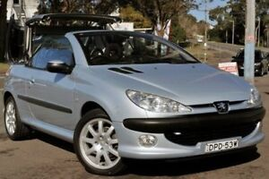 2002 Peugeot 206 T1 MY02.5 CC Blue 5 Speed Manual Cabriolet