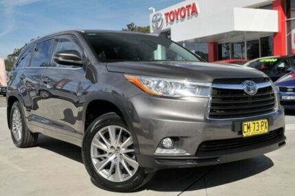 2014 Toyota Kluger GSU50R Grande (4x2) Graphite 6 Speed Automatic Wagon Lisarow Gosford Area Preview