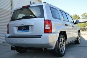 2008 Jeep Patriot MK MY2007 Sport CVT Auto Stick Silver 6 Speed Constant Variable Wagon