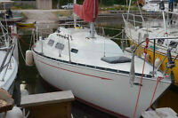 Sailboat - 1981 Mirage 27 with slip