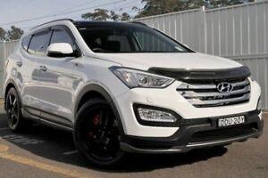 2015 Hyundai Santa Fe DM2 MY15 SR White 6 Speed Sports Automatic Wagon Gosford Gosford Area Preview