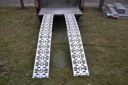 Folding Aluminum ATV Loading Ramps