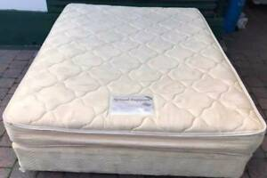 Good condition Queen Bed base mattress. Delivery can be organised Kingsbury Darebin Area Preview