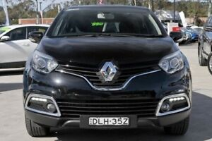 2015 Renault Captur J87 Dynamique Black 6 Speed Automated Manual Wagon Lisarow Gosford Area Preview