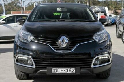 2015 Renault Captur J87 Dynamique EDC Black 6 Speed Sports Automatic Dual Clutch Hatchback Lisarow Gosford Area Preview
