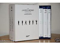 BLURAYS 24 James Bond films NEW