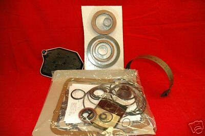 AODE 4R70W TRANSMISSION REBUILD KIT WITH ALL FRICTION CLUTCHES AND BAND 1993 95