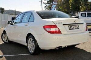 2007 Mercedes-Benz C220 CDI W204 Classic White 5 Speed Automatic Sedan