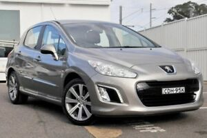 2011 Peugeot 308 T7 XSE Turbo Grey 6 Speed Manual Hatchback Gosford Gosford Area Preview