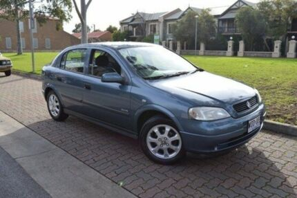 2001 Holden Astra TS Equipe City Grey 4 Speed Automatic Hatchback