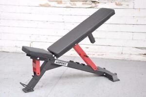 NEW eSPORT ADJUSTABLE BENCH IRON BULL 90