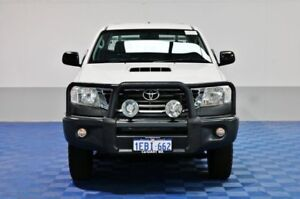 2012 Toyota Hilux KUN26R MY12 SR (4x4) White 5 Speed Manual Dual Cab Chassis