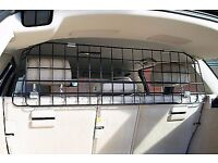 Rear seating cage for car partition for dogs