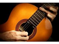 Guitar tuition in Acton! Classical guitar lessons by experienced teacher