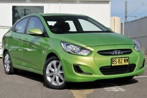 2012 Hyundai Accent RB Active Green 4 Speed Sports Automatic Sedan Gosford Gosford Area Preview