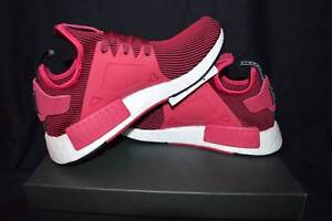US 9.5 Womens Adidas NMD XR1 Pink Primeknit Leeming Melville Area Preview