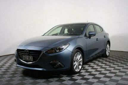 2016 Mazda 3 BM5438 SP25 SKYACTIV-Drive Blue 6 Speed Sports Automatic Hatchback