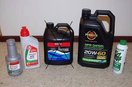 Car Liquids Set