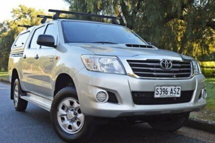 2012 Toyota Hilux KUN26R MY12 SR Double Cab Gold 4 Speed Automatic Utility