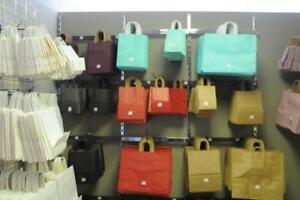 PLASTIC BAGS, KRAFT PAPER BAGS, TISSUE WRAPPING PAPER , SHRINK WRAP, PLASTIC GARMENT BAGS