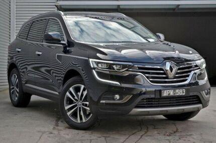 2017 Renault Koleos HZG Intens X-tronic Black 1 Speed Constant Variable Wagon