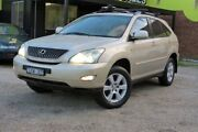 2004 Lexus RX330 MCU38R Sports Gold 5 Speed Automatic Wagon Upper Ferntree Gully Knox Area Preview