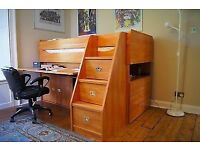 "Immaculate ""Gautier""beautiful quality calypso cabin bed system"