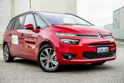 2016 Citroen C4 Grand Picasso B7 MY15 Picasso Intensive 110 HDI Rouge Rubi 6 Speed Automatic Wagon