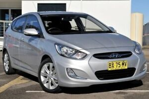 2011 Hyundai Accent RB Elite Silver 4 Speed Sports Automatic Hatchback Gosford Gosford Area Preview