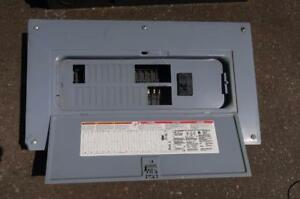 Square D 100amps Breaker Panel w/ Breakers