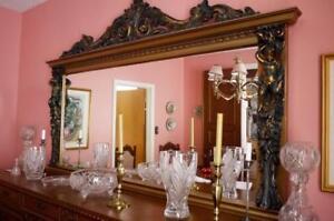 Italian Carved Walnut Dining Room Suite