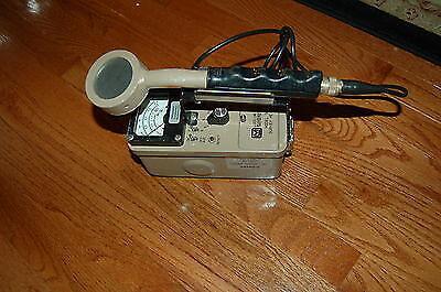 Ludlum 3 Survey Meter Geiger Counter Radiometer 44-9 Pancake Probe