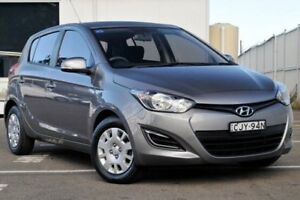 2012 Hyundai i20 PB MY13 Active Grey 4 Speed Automatic Hatchback Gosford Gosford Area Preview
