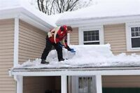 Roof shoveling and Snow Removal