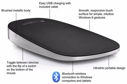 Logitech ULTRA THIN Touch Mouse
