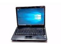 HP Compaq 6735s (Windows 10) – 15'4 inch Screen – AMD Dual Core - 4GB RAM - 160 GB HDD