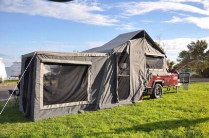Eagle Hard Floor Rear Fold -Apache Camper trailer