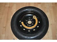 Renault Clio spare wheel, like new, with jack and spanner