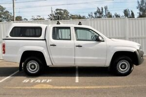 2012 Volkswagen Amarok 2H MY13 TSI300 White 6 Speed Manual Utility